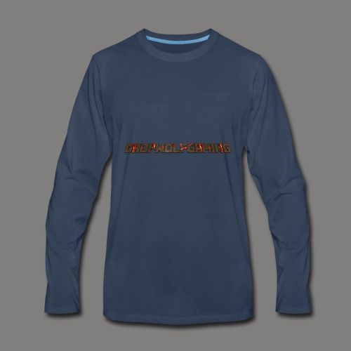 DropWolfGaming - Men's Premium Long Sleeve T-Shirt