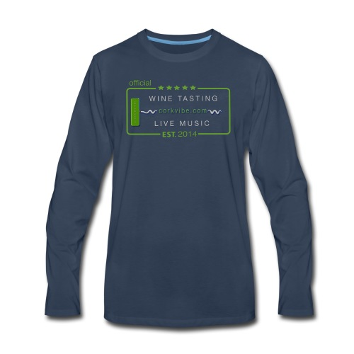 corkvibe t shirt - Men's Premium Long Sleeve T-Shirt