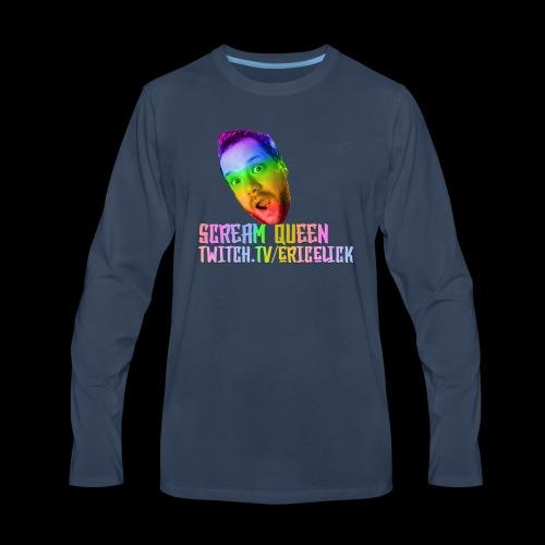 Scream Queen Pride Shirt - Men's Premium Long Sleeve T-Shirt