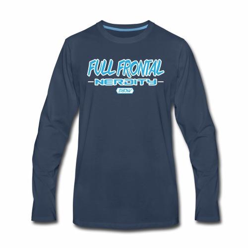 Full Frontal Logo Only - Men's Premium Long Sleeve T-Shirt