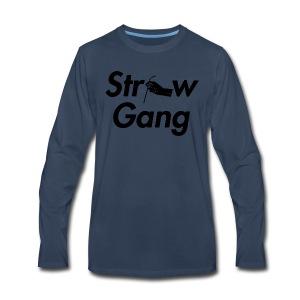 Straw Gang - Men's Premium Long Sleeve T-Shirt