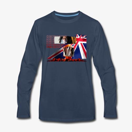 punky reggae party - Men's Premium Long Sleeve T-Shirt