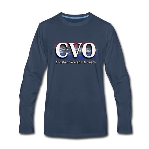 CVO un-official logo - Men's Premium Long Sleeve T-Shirt