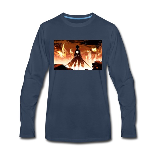Attack of the titan - Men's Premium Long Sleeve T-Shirt