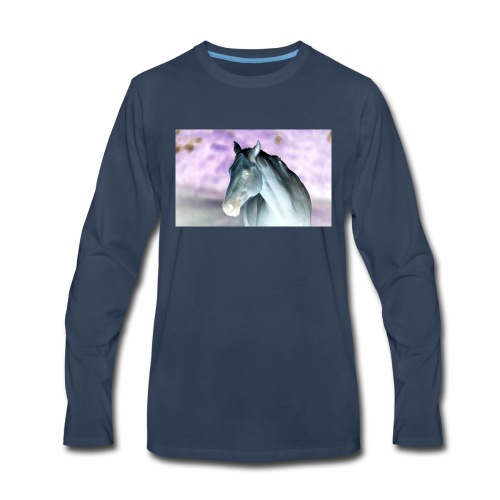 Just an inverted horse - Men's Premium Long Sleeve T-Shirt