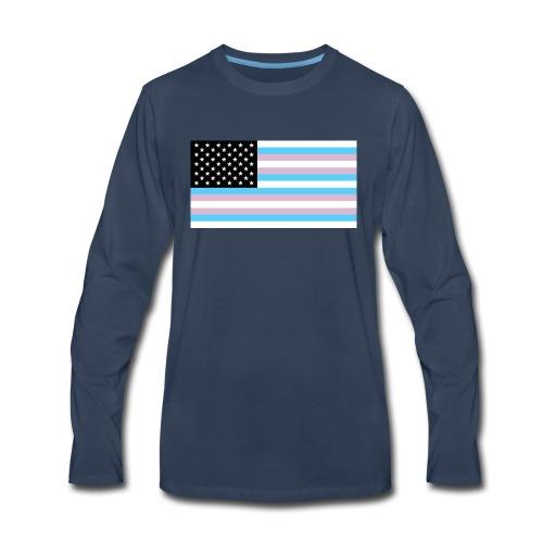 2000px TransAmerica svg - Men's Premium Long Sleeve T-Shirt