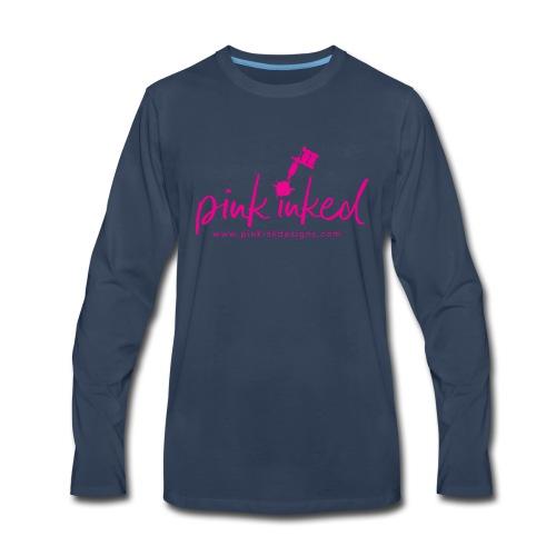 Pink_Inked - Men's Premium Long Sleeve T-Shirt