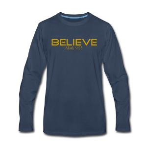 Believe it's Possible - Men's Premium Long Sleeve T-Shirt