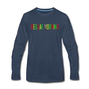 Reggae Morning - Men's Premium Long Sleeve T-Shirt
