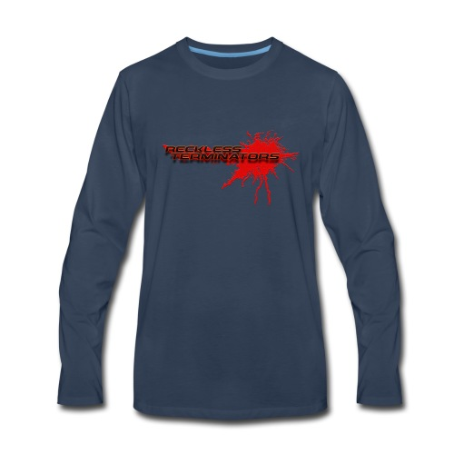 Reckless Terminators - Men's Premium Long Sleeve T-Shirt