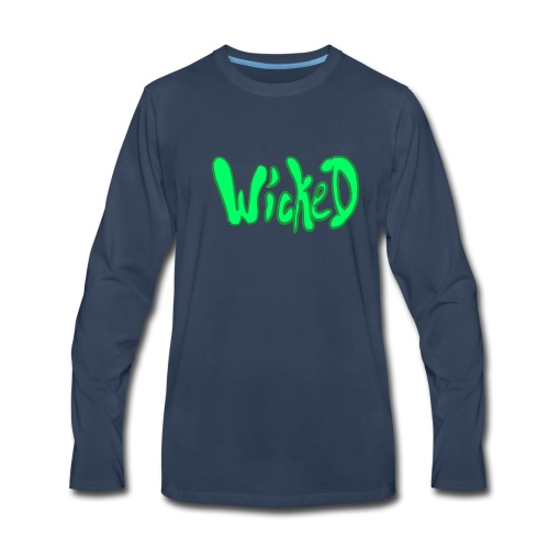Wicked Gothic Style - Men's Premium Long Sleeve T-Shirt
