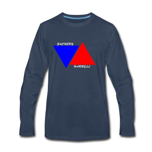 Officail 2017 Zachery Harrell logo - Men's Premium Long Sleeve T-Shirt