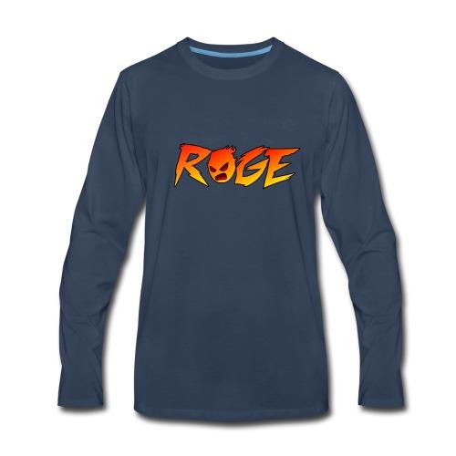 Rage T-shirt - Men's Premium Long Sleeve T-Shirt