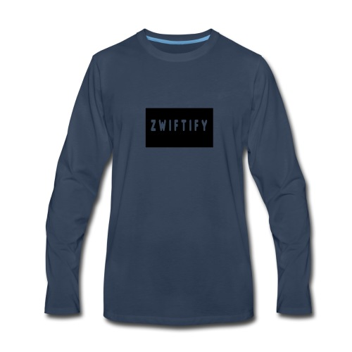 zwiftify - Men's Premium Long Sleeve T-Shirt