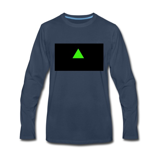 Emerald_Logo - Men's Premium Long Sleeve T-Shirt