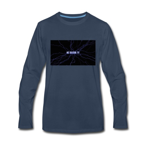 Nc Bassin Tv - Men's Premium Long Sleeve T-Shirt