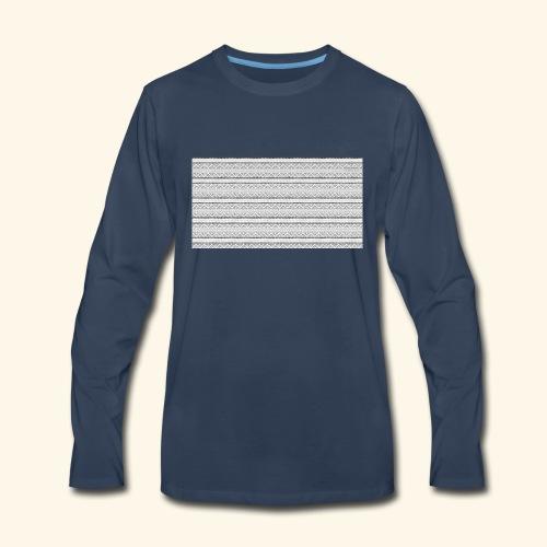 SLICK SLACK POLY'S ON THE BACK - Men's Premium Long Sleeve T-Shirt
