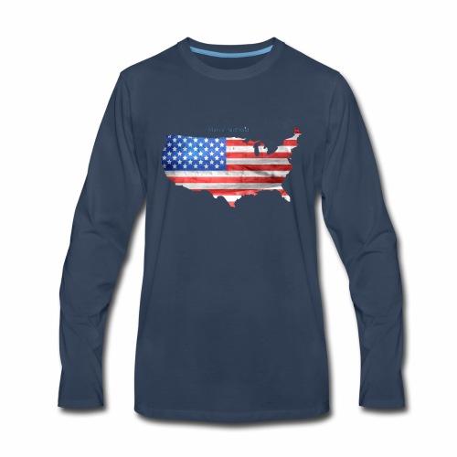 Murica, nuff said - Men's Premium Long Sleeve T-Shirt