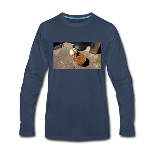 Hungry cat - Men's Premium Long Sleeve T-Shirt