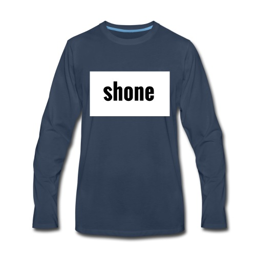 shone - Men's Premium Long Sleeve T-Shirt