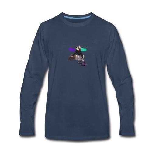 FizzyKins Design #1 - Men's Premium Long Sleeve T-Shirt