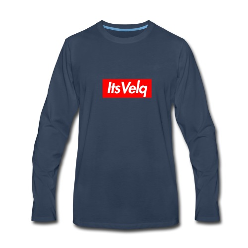 Velq Apparel - Men's Premium Long Sleeve T-Shirt
