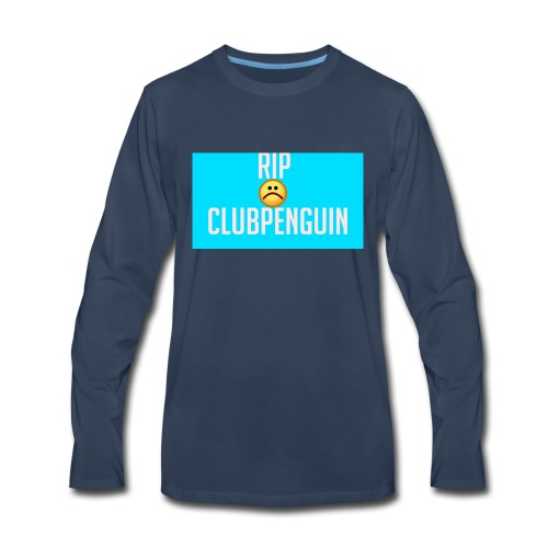RIP ClubPenguin - Men's Premium Long Sleeve T-Shirt