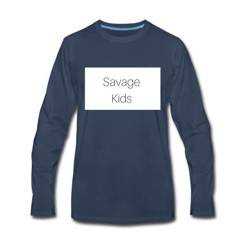 Savage Kids - Men's Premium Long Sleeve T-Shirt