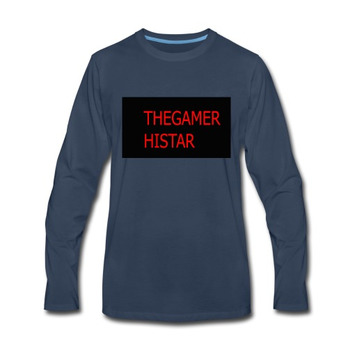 thegamer histar new logo - Men's Premium Long Sleeve T-Shirt