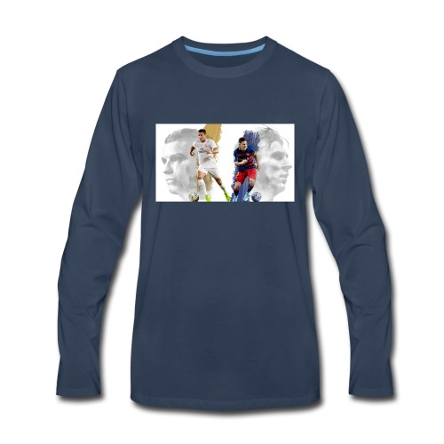 soc messi rondaldo ill b1 1296x729 - Men's Premium Long Sleeve T-Shirt