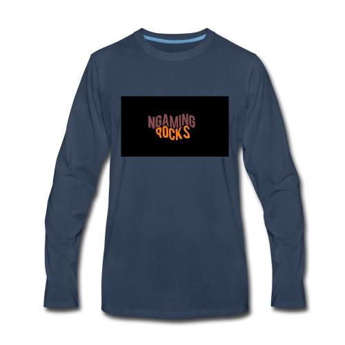NgamingRocks LoGo - Men's Premium Long Sleeve T-Shirt