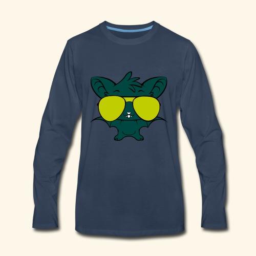 hip hop bats - Men's Premium Long Sleeve T-Shirt