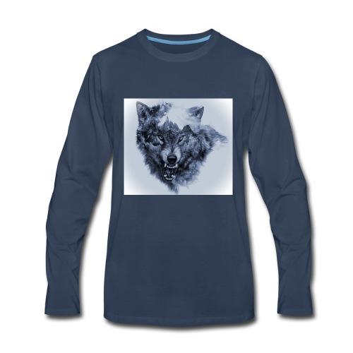 wallpaper1466342107b224c3 - Men's Premium Long Sleeve T-Shirt