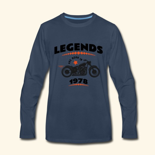 1978 - Men's Premium Long Sleeve T-Shirt