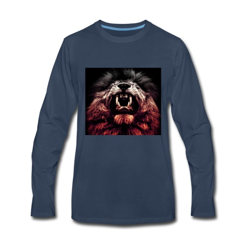 Lion roar - Men's Premium Long Sleeve T-Shirt