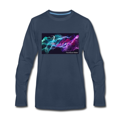 the fire merch - Men's Premium Long Sleeve T-Shirt