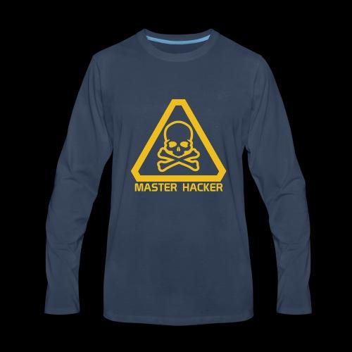 Master Hacker - Men's Premium Long Sleeve T-Shirt