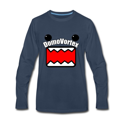 DomoVortex - Men's Premium Long Sleeve T-Shirt
