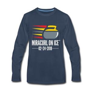 Miracurl On Ice Celebration - Men's Premium Long Sleeve T-Shirt