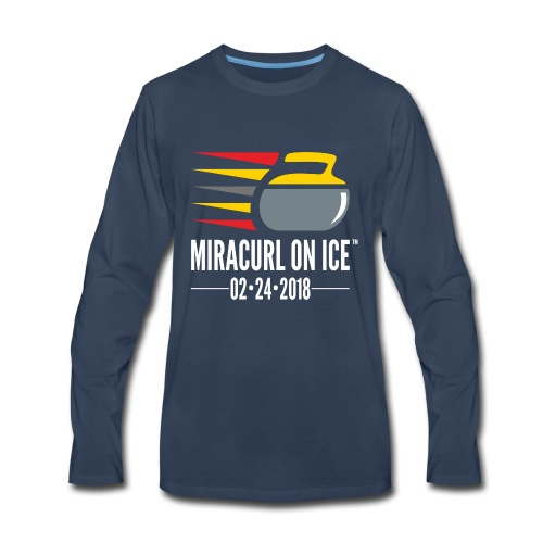 Miracurl On Ice Celebration - Men's Premium Long Sleeve T-Shirt