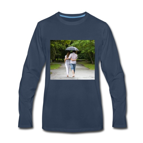 love couple 746 - Men's Premium Long Sleeve T-Shirt