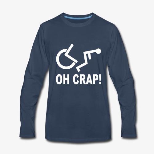 Oh Crap - Men's Premium Long Sleeve T-Shirt