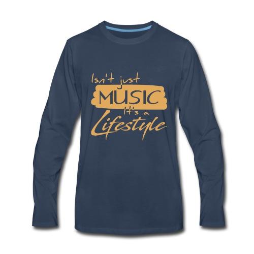 Musician Lifestyle - Men's Premium Long Sleeve T-Shirt