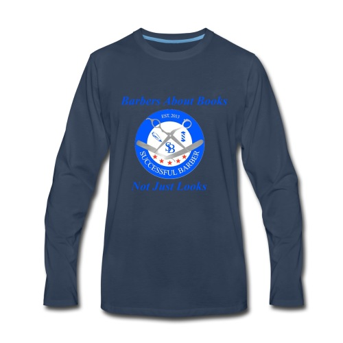 BarberShop Books - Men's Premium Long Sleeve T-Shirt