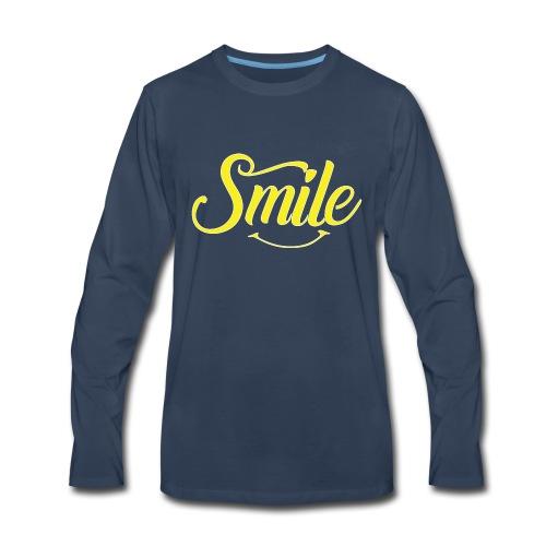 All Smiles - Men's Premium Long Sleeve T-Shirt
