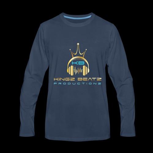 Official Kingz Beatz Productionz LLC Logo - Men's Premium Long Sleeve T-Shirt