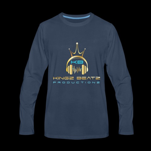 Official Kingz Beatz Productionz LLC Logo - Men's Premium Long Sleeve T-Shirt