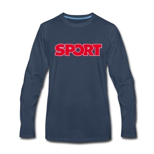 SPORT - Men's Premium Long Sleeve T-Shirt
