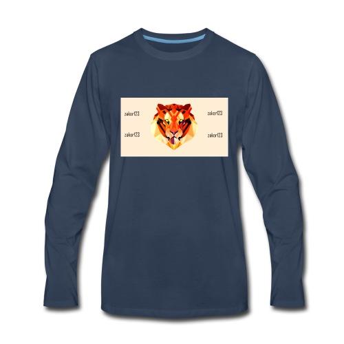 zakor´s123 official T-shirt - Men's Premium Long Sleeve T-Shirt