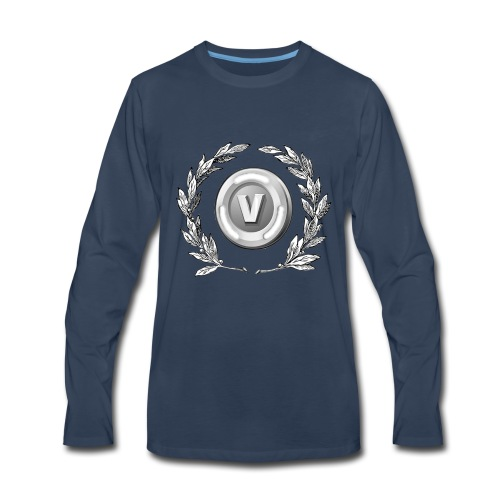 V-Bucks Made Me Do It - Men's Premium Long Sleeve T-Shirt